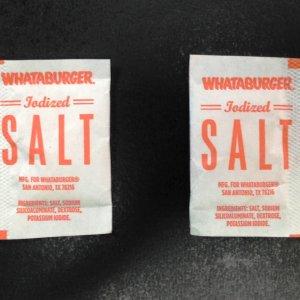 Salt Packets Packaging
