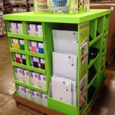 Full Pallet POP Display