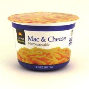 mac and cheese food packaging