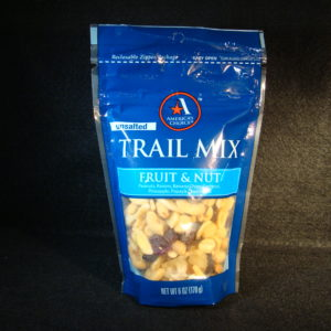 food pouch trail mix packaging