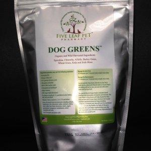 Zipper Pouch Packaging Dog Greens