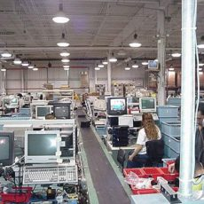 fulfillment packaging line
