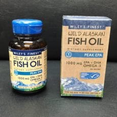 Fish Oil Capsule Bottling