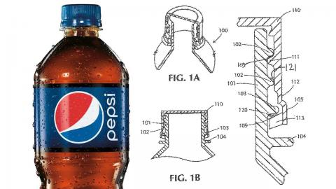 pepsi scented packaging patent