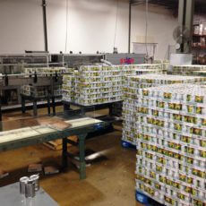 Can Labeling Packaging Line