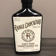 range cookware bottle packaging