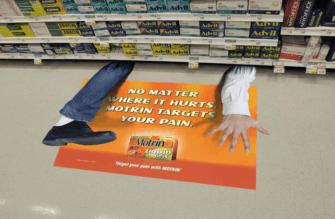 Motril: Floor display