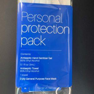 Hand Sanitizer Gel Pack