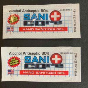 Hand Sanitizer Gel Packaging